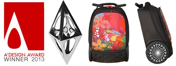 Рюкзак на колесах Nikidom XL Supergirl Испания арт. 9325 (27 литров), - фото 4