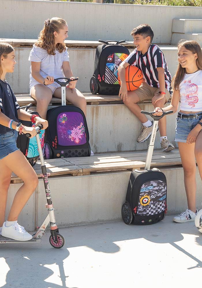 Рюкзак на колесах Nikidom XL Bloom  Испания арт. 9323 (27 литров), - фото 3