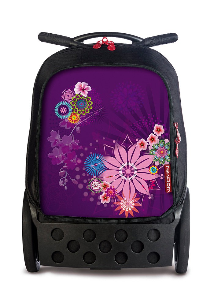 Рюкзак на колесах Nikidom XL Bloom  Испания арт. 9323 (27 литров), - фото 1