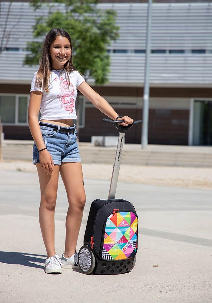 Рюкзак на колесах Nikidom XL Supergirl Испания арт. 9325 (27 литров), - фото 12